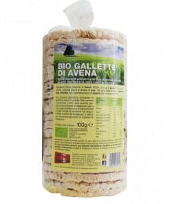 Gallette di Avena Biologiche 100g Bpr