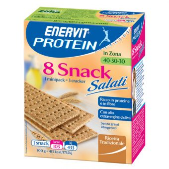 ENERVIT PROTEIN 8 SNACK CRACKERS (TUTTI I GUSTI)